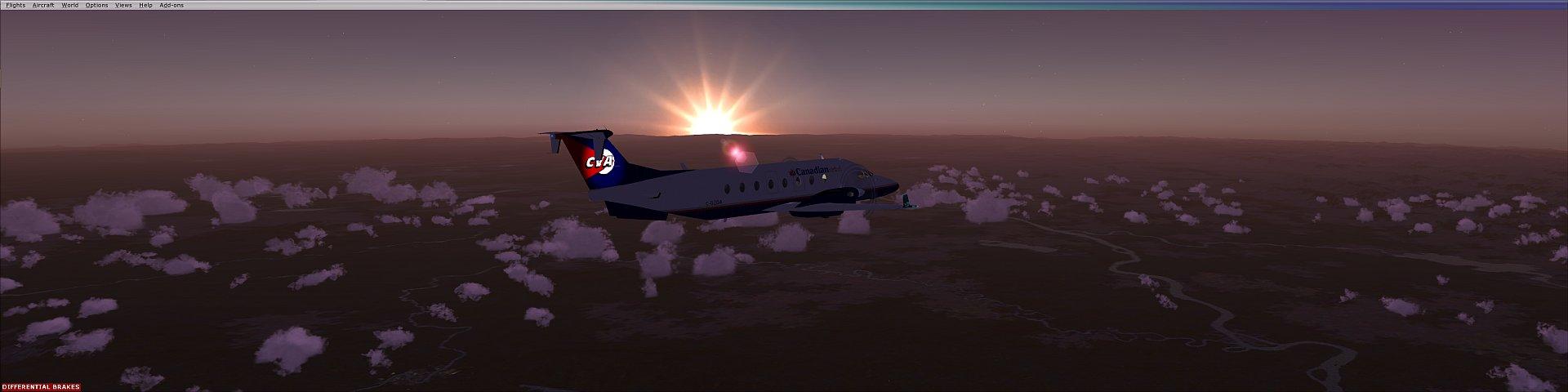 Lovin' the sunset!