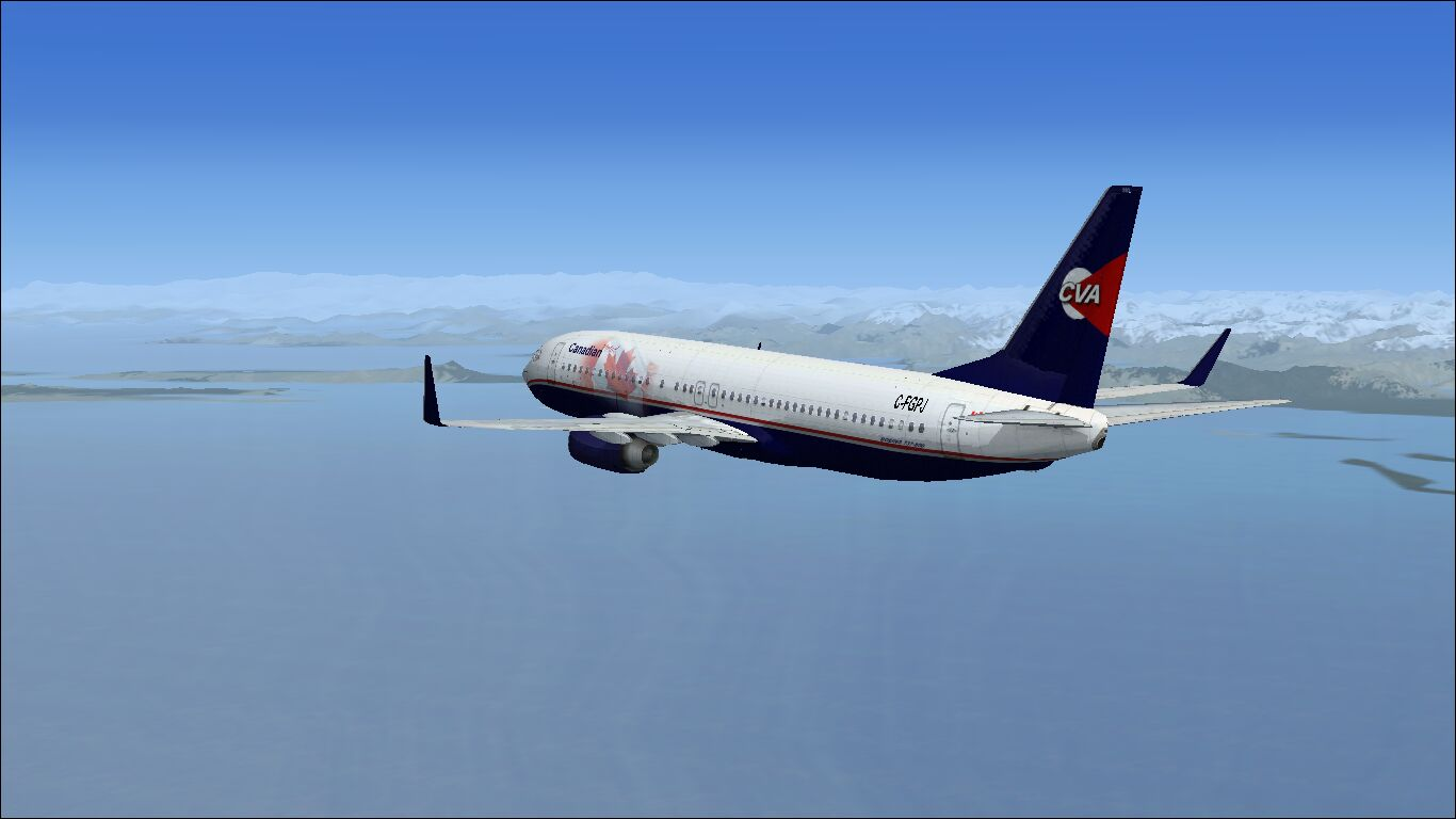 Enroute to PANC from CYVR